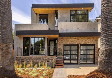 Современный и функциональный фасад